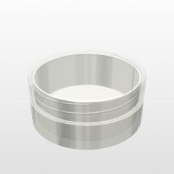 Pressed Powder Container -V209- 8cc