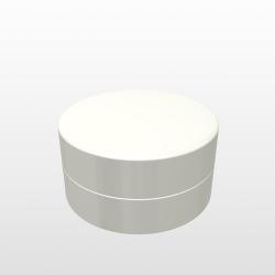Pressed Powder Container - V215 - 4+4cc