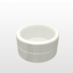 Pressed Powder Container - V220 - 8cc