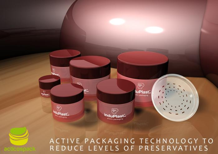 Induplast is a member of the Acticospack project: Active packaging solutions for more natural cosmetic products